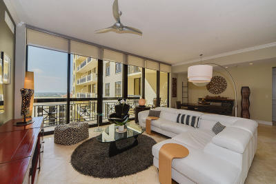 West Palm Beach Condo For Sale: 701 S Olive Avenue #1706