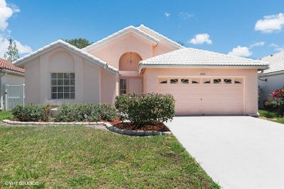 Wellington Single Family Home For Sale: 2662 Bedford Mews Drive