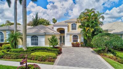 Delray Beach Single Family Home For Sale: 16071 Villa Vizcaya Place
