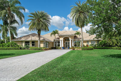 Port Saint Lucie Single Family Home For Sale: 7992 Plantation Lakes Drive