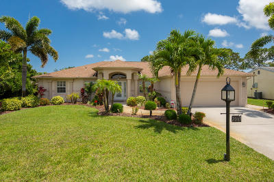 Port Saint Lucie Single Family Home For Sale: 2065 SE Aneci Street