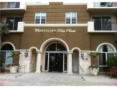 West Palm Beach Rental For Rent: 616 Clearwater Park Road #507