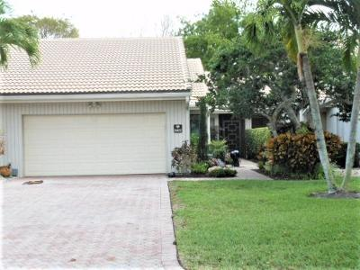 Boca West Single Family Home For Sale: 19890 Sawgrass Lane #5802