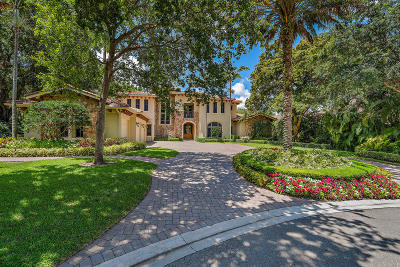Palm Beach Gardens Single Family Home For Sale: 3200 Monet Drive W