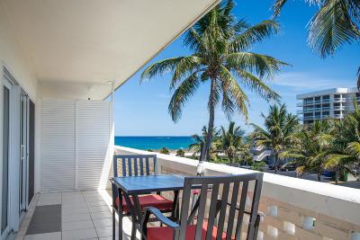 Palm Beach Condo Contingent: 2545 S Ocean Boulevard #406