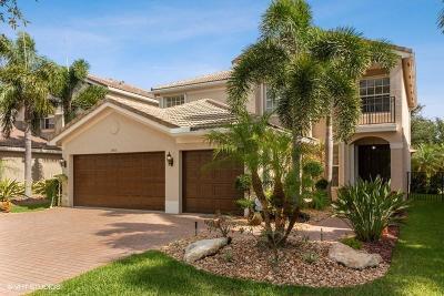 Boynton Beach Single Family Home Contingent: 8015 Emerald Winds Circle