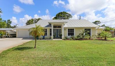 Stuart Single Family Home For Sale: 1008 SE Hall Street