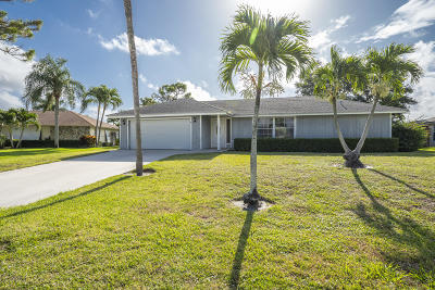 Palm Beach Gardens Single Family Home For Sale: 11844 Cedar Avenue