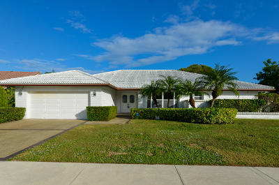 Deerfield Beach Single Family Home For Sale: 570 Deer Creek Run