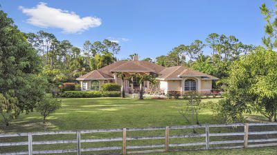West Palm Beach Single Family Home For Sale: 12881 78th Place