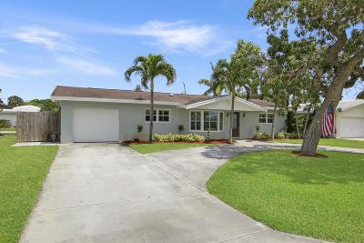 Palm Beach Gardens Single Family Home For Sale: 10102 Dahlia Avenue
