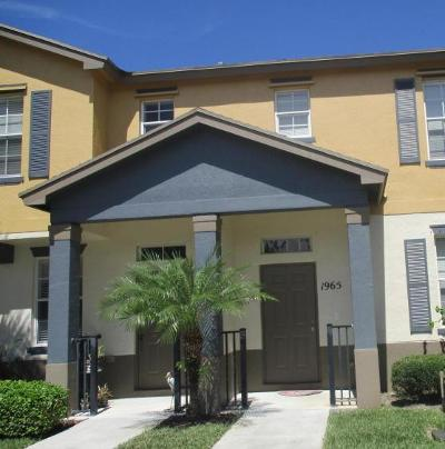 Port Saint Lucie FL Townhouse For Sale: $144,900
