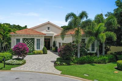 Palm Beach Gardens FL Single Family Home For Sale: $2,250,000