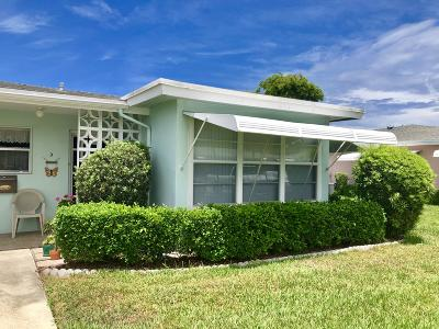 delray beach Single Family Home For Sale: 175 D High Point Terrace E