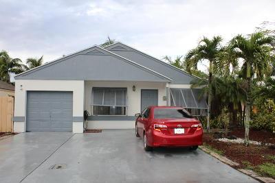 Boynton Beach Single Family Home Contingent: 1 Mayfield Way