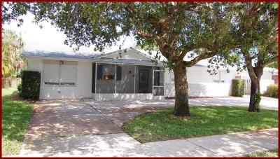 North Palm Beach Single Family Home For Sale: 940 Prosperity Farms Road