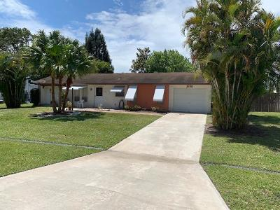 Port Saint Lucie Single Family Home Contingent: 2180 SE Shelter Drive