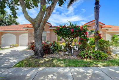 Boca Raton Single Family Home For Sale: 8285 Via Di Veneto