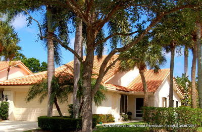 West Palm Beach Single Family Home For Sale: 2602 Mohawk Circle