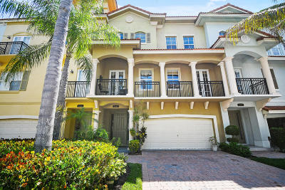 Palm Beach Gardens Townhouse For Sale: 2644 Ravella Lane