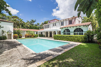 Palm Beach FL Single Family Home Contingent: $8,250,000