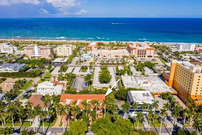 Delray Beach Townhouse For Sale: 51 Seabreeze Avenue
