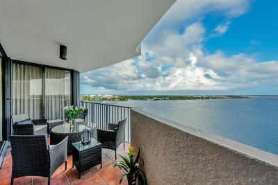 West Palm Beach Condo For Sale: 1200 S Flagler Drive #1404