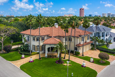 Mizner Court, Mizner Court Cond I, Royal Palm Yacht & Cc, Royal Palm Yacht & Country Club, Royal Palm Yacht And Country Club, Royal Palm Yacht And Country Club Sub In Pb 26 Pgs, Royal Palm Yacht And Country Club Subdivision Single Family Home For Sale: 166 Sabal Palm Terrace