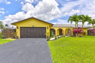 Coral Springs Single Family Home For Sale: 10355 NW 15th Street