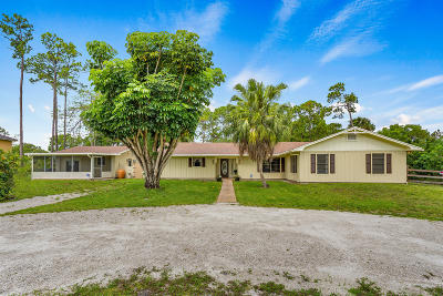 Royal Palm Beach Single Family Home Contingent: 4273 121st Terrace