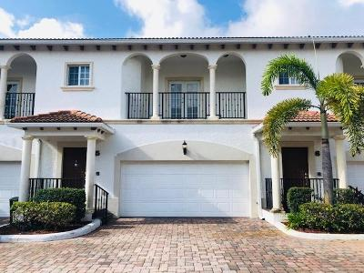 North Palm Beach Townhouse For Sale: 816 Prosperity Farms Road #5