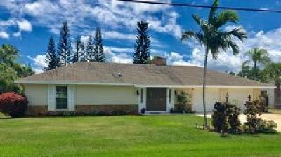 Hobe Sound Single Family Home For Sale: 9272 SE Duncan Street