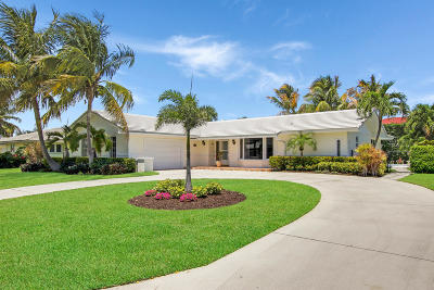 Singer Island Single Family Home For Sale: 1110 Gulfstream Way