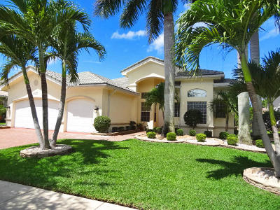 Boynton Beach Single Family Home For Sale: 11177 Brandywine Lake Way