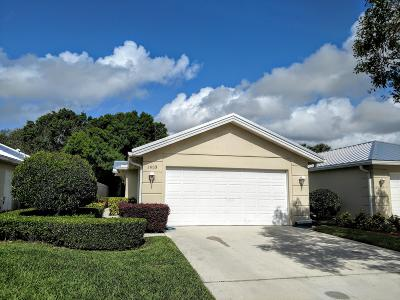 Palm City Single Family Home For Sale: 1653 SW Waterfall Boulevard