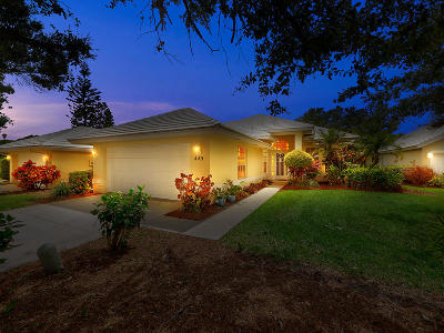 St Lucie County Single Family Home For Sale: 440 SW Fairway Vista