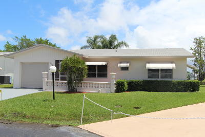 West Palm Beach Single Family Home For Sale: 5130 Nicholas Drive