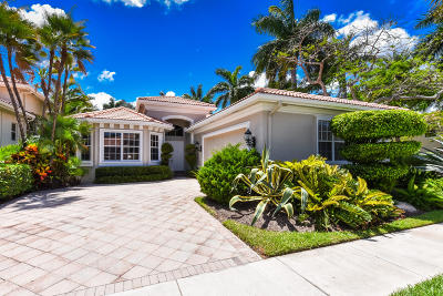 Boca Raton Single Family Home For Sale: 4075 Briarcliff Circle