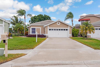 Lake Worth Single Family Home Contingent: 6073 Beaconwood Road