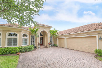 Port Saint Lucie Single Family Home For Sale: 8713 Bally Bunion Road