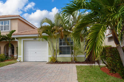 West Palm Beach Single Family Home For Sale: 3355 Blue Fin Drive