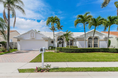 Palm Beach Gardens Single Family Home For Sale: 10254 Allamanda Circle