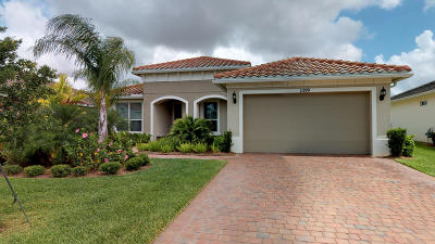 St Lucie County Single Family Home For Sale: 11159 SW Maple Tree Lane