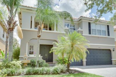 Boynton Beach Single Family Home For Sale: 9832 Cobblestone Lakes Court