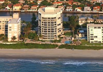 Highland Beach Condo For Sale: 2917 S Ocean Boulevard #205