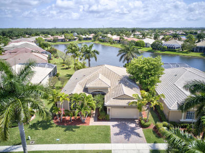 West Palm Beach Single Family Home For Sale: 9577 Lantern Bay Circle