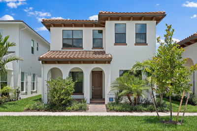 Palm Beach Gardens Single Family Home For Sale: 8047 Hobbes Way