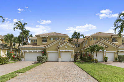 Palm Beach Gardens Townhouse For Sale: 4695 Cadiz Circle