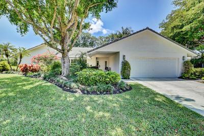 Boca Raton Single Family Home For Sale: 6964 Giralda Circle