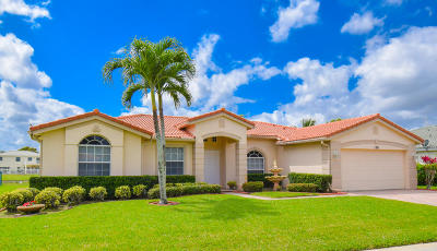 Royal Palm Beach Single Family Home Contingent: 129 Cocoplum Circle